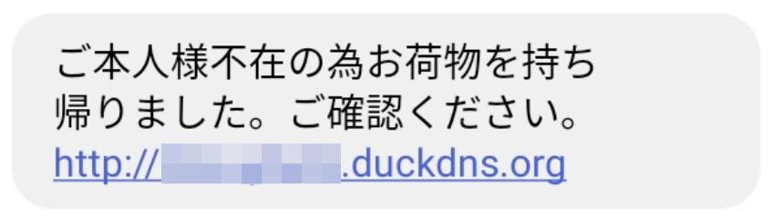 Org 荷物 duckdns